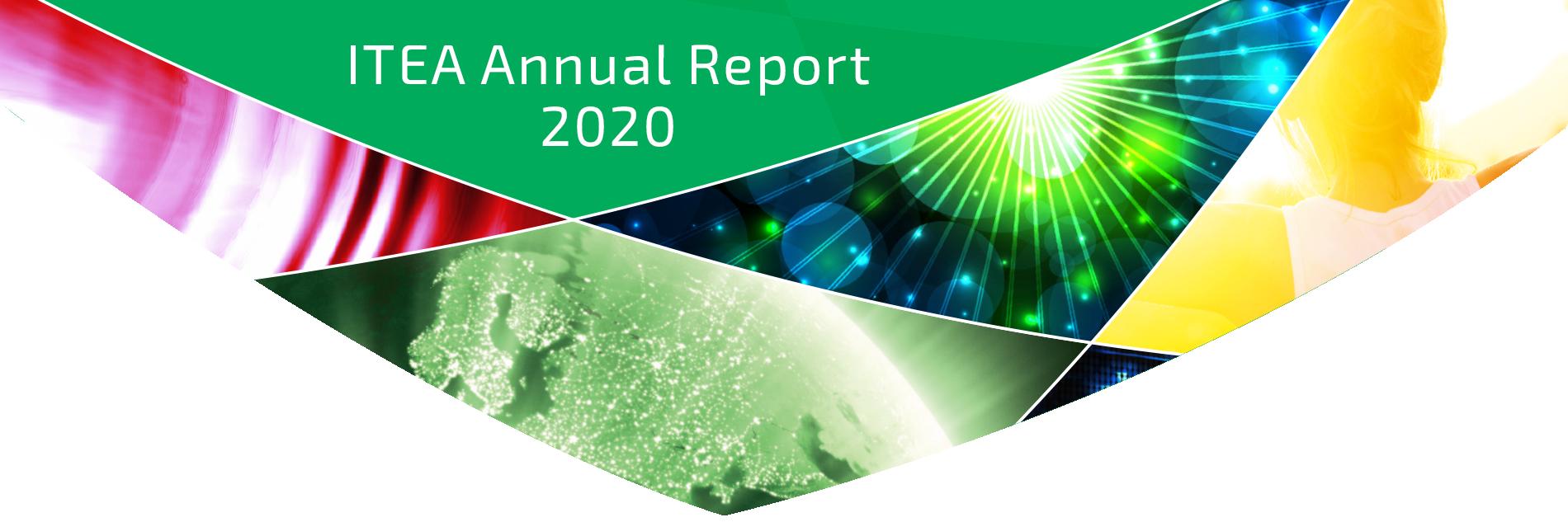 ITEA Annual Report 2020 Header